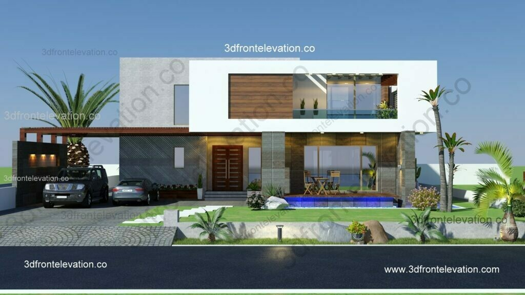 New Minimalist House Exterior with Expert Architect