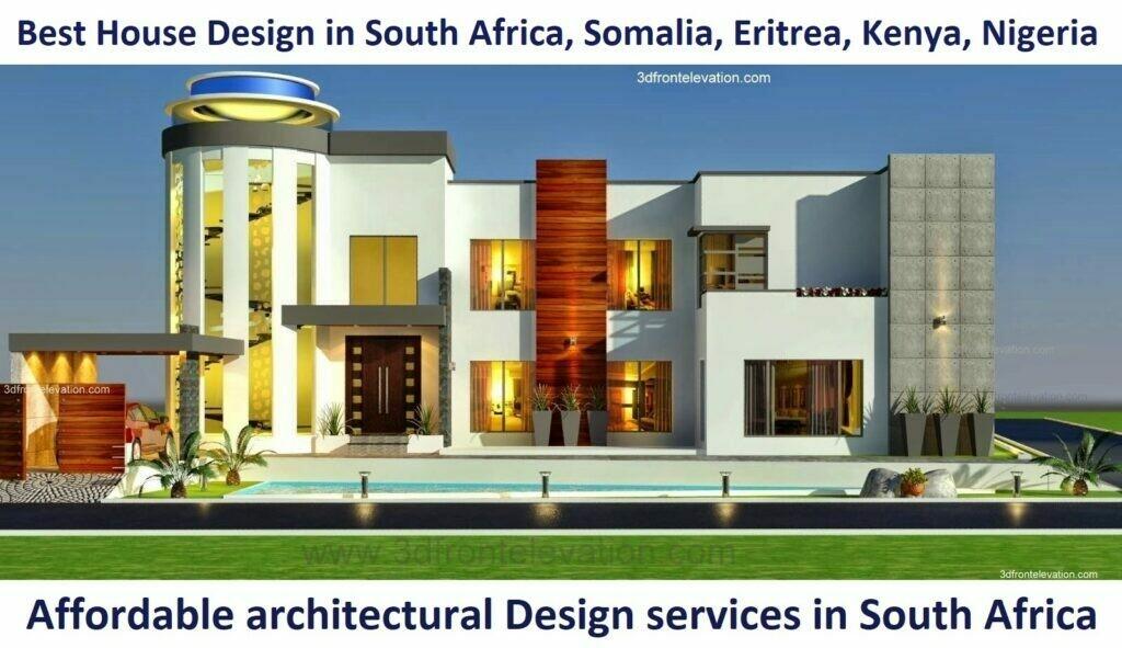 Big Modern House Design | Front Elevation | Exterior