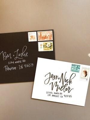 Hand Lettering - Envelopes