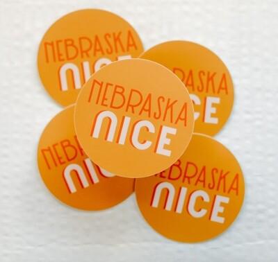 Nebraska Nice sticker
