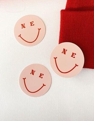 'NE smiley' sticker