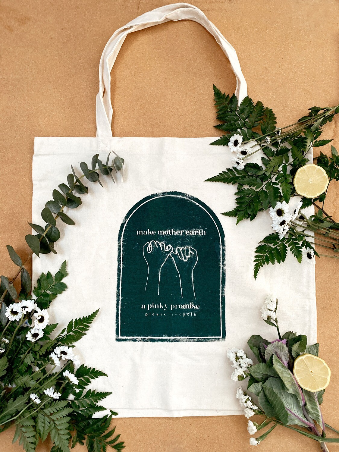'Please Recycle' tote