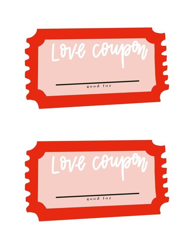 'Love Coupon' FREE download