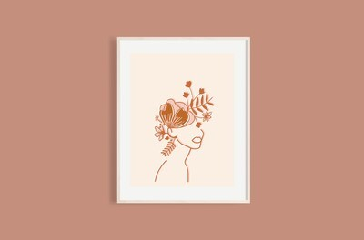'Thoughts in your head' print