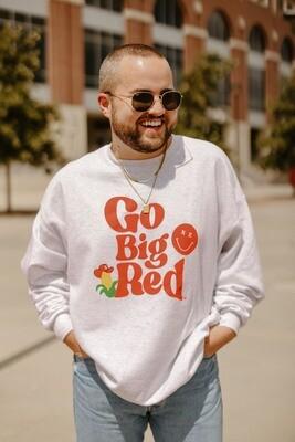 Go Big Red Crewneck