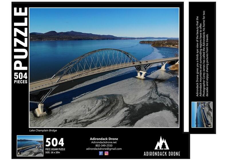 Lake Champlain Bridge Puzzle - 504 Pieces
