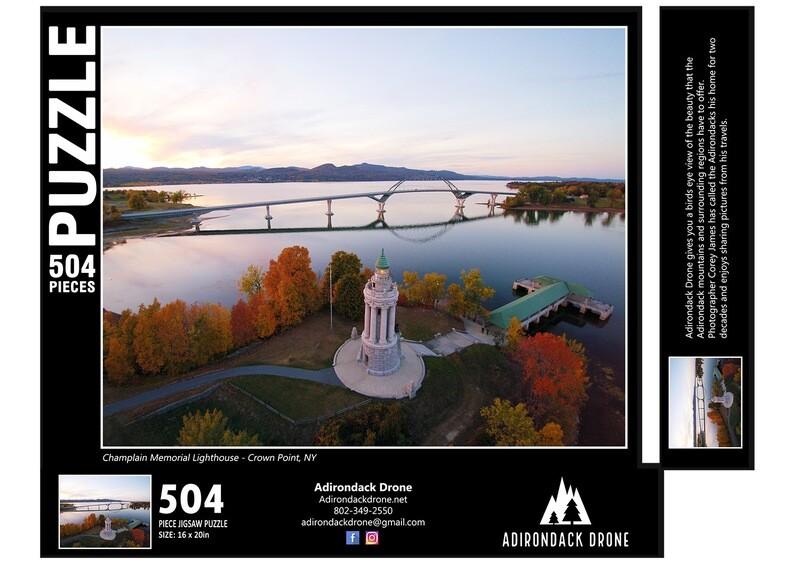 Champlain Memorial Lighthouse Puzzle - 504 Pieces