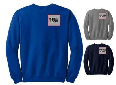 50/50 Blend Crew Sweatshirt