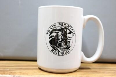 COFFEE MUG W/ TRAIN MOUNTAIN LOGO