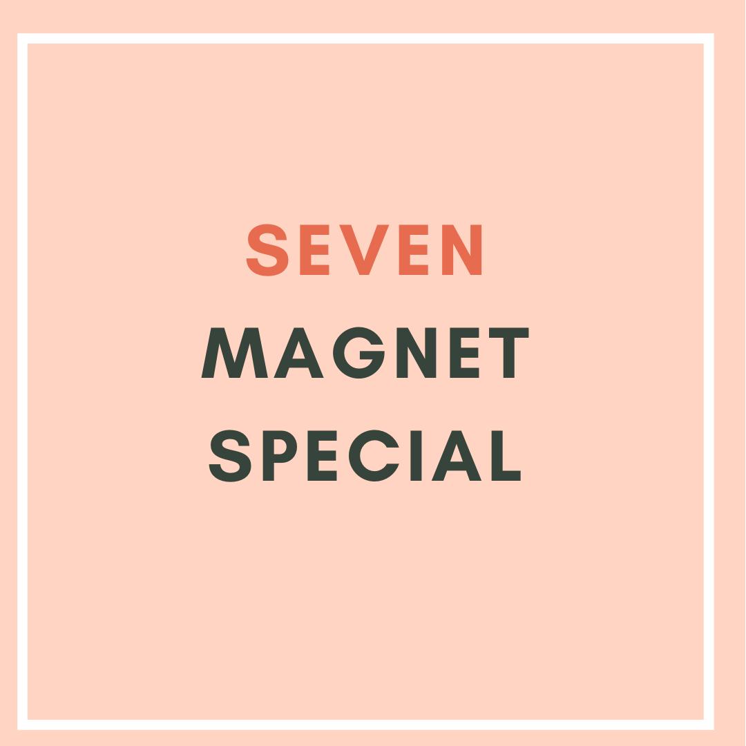 7 Magnet Special ($5.43/unit)