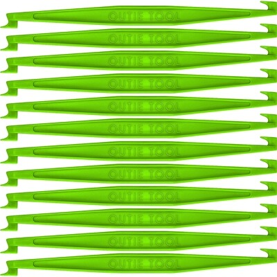 60 NEON GREEN OUTIE TOOLS - BULK WHOLESALE UNPACKAGED