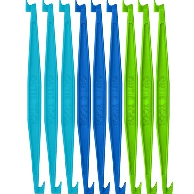 60 BULK UNPACKAGED OUTIE TOOLS - 20 SKY BLUE, 20 PACIFIC, 20 NEON GREEN