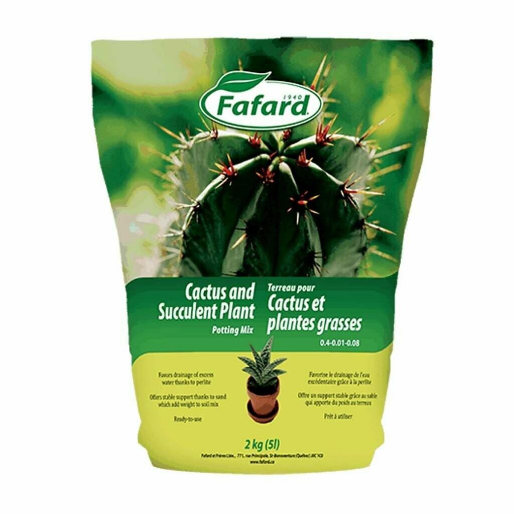 Fafard Cactus Soil 5L