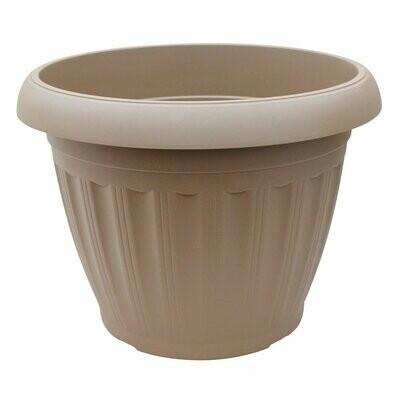 Onda Plastic Pot - Sandstone