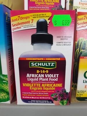 Schultz African Violet Liquid Plant Food 150g