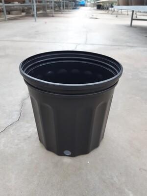 Black Plastic Grower Pots