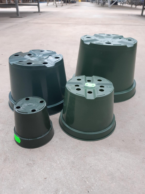 Green Plastic Pots