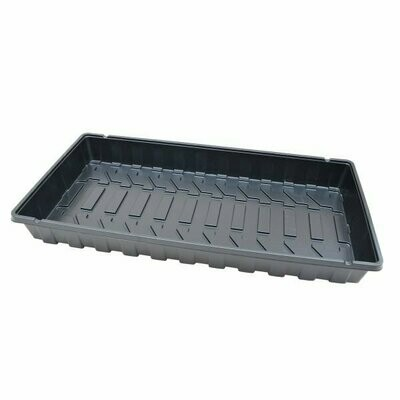 10x20 Open Black Tray