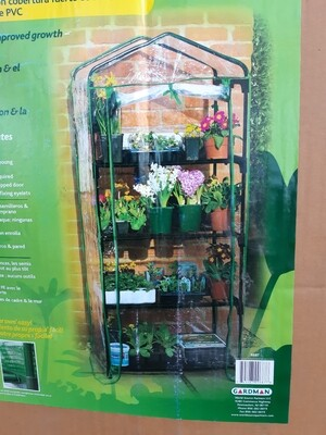 4-Tier Mini Greenhouse w/ PVC Cover