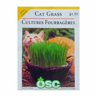 Cat Grass Seed Package