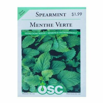 Spearmint Seed Package