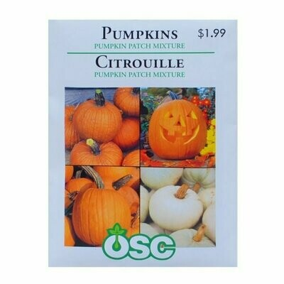 Pumpkins Pumpkin Patch Mixture Seed Package