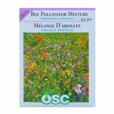 Bee Pollinator Mixture Seed Package