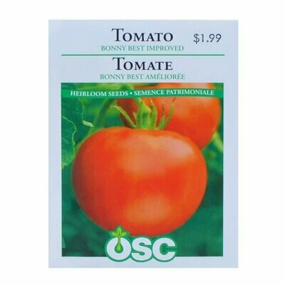 Tomato Bonnie's Best Improved Seed Package
