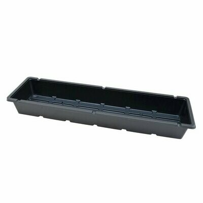 5x20 Open Black Tray