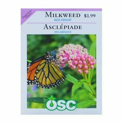 Milkweed Red Swamp Seed Package