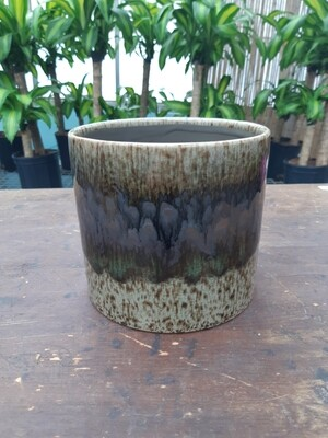 Brown/Green Dolomite Pot Cover