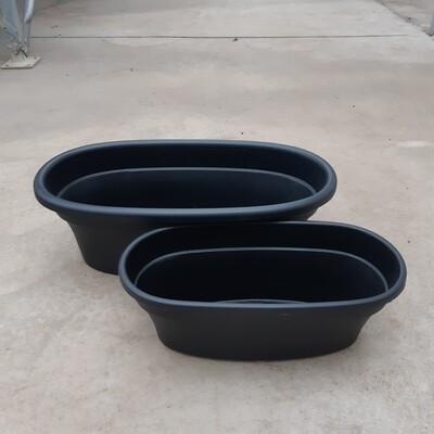 Plastic Oval Planter