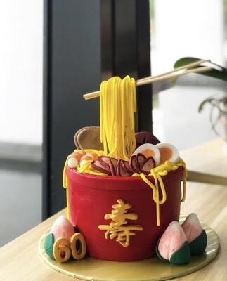 Delicacy - Shou Longevity Noodles Bowl