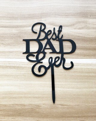 Best Dad Ever (Black)