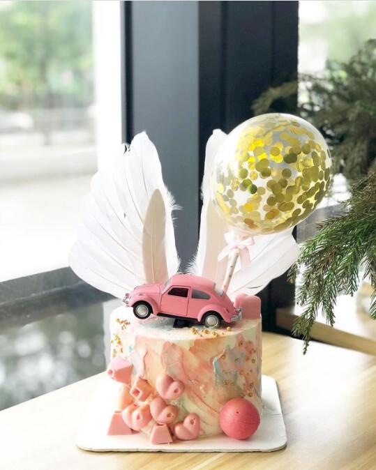 Car Cake - Pinky