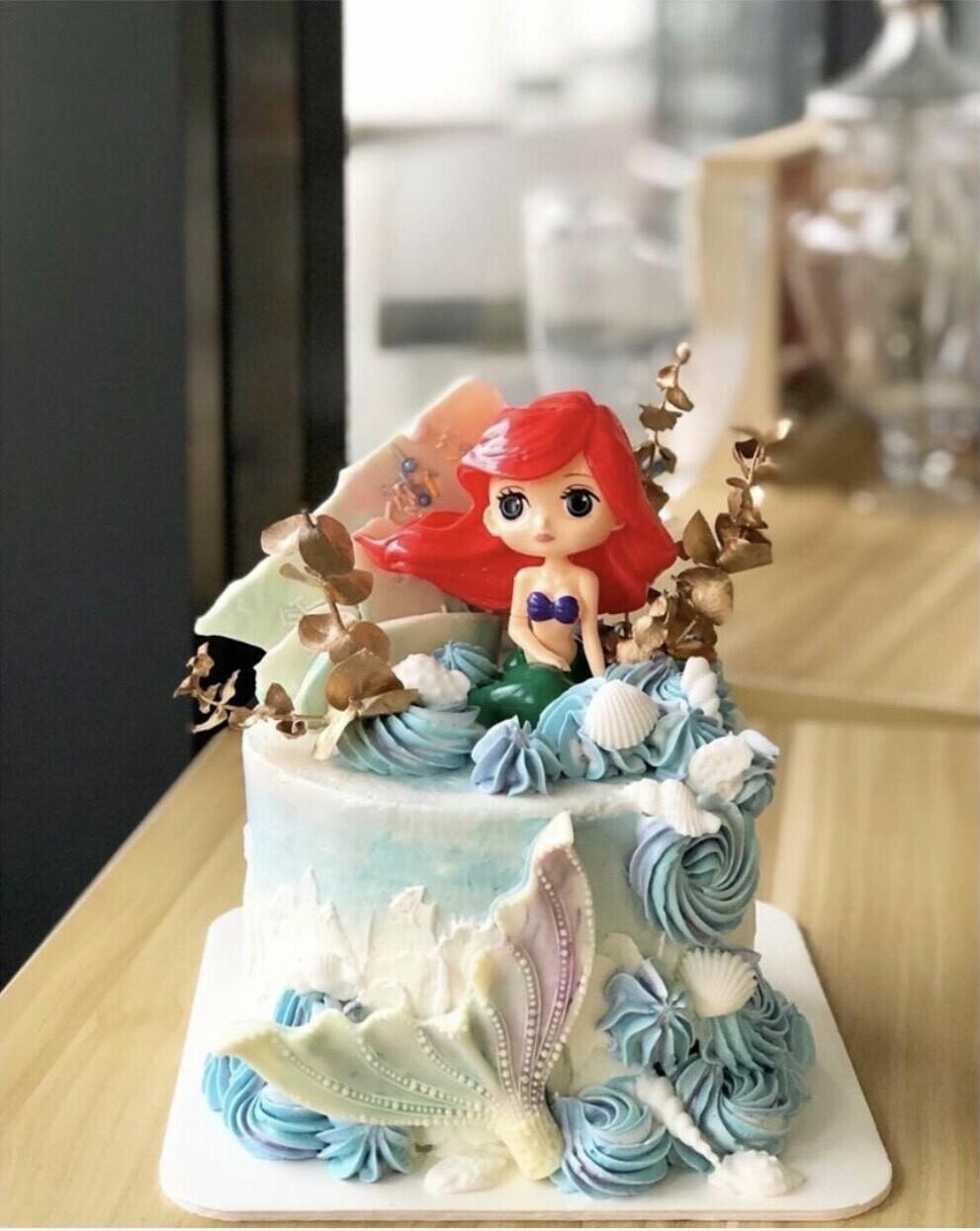 Disney - Mermaid Cake 2