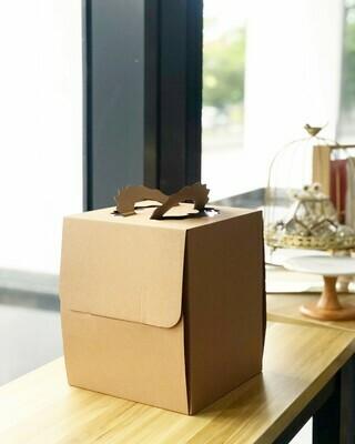 Brown Carton Cake Box