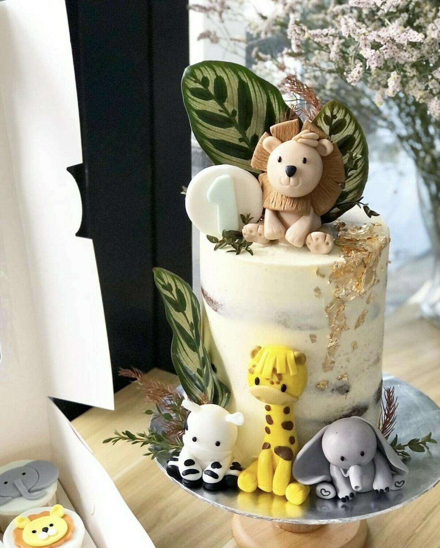 Animal Safari Jungle Cake 2
