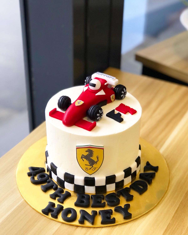 Car Cake - Ferrari 1