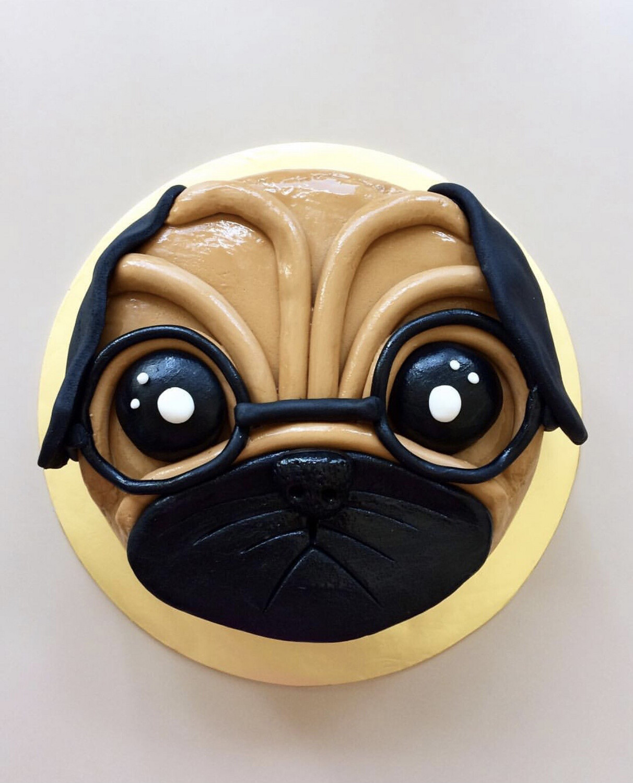 Dog Puppy Cake 2