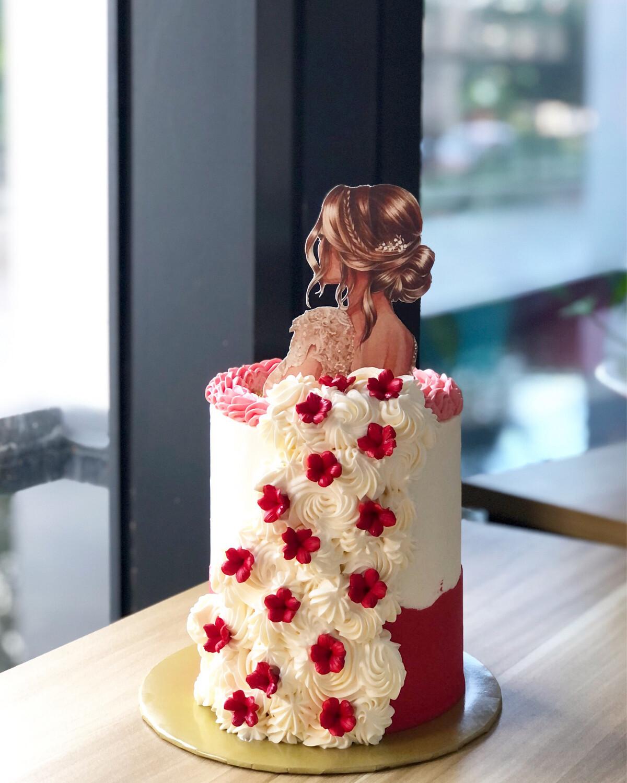 Lady Cake 2