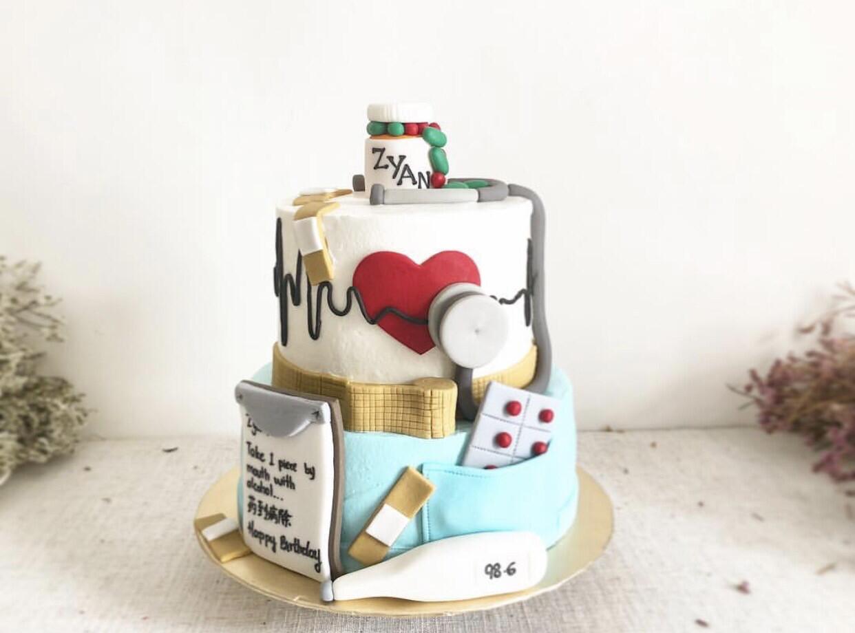 Doctor Nurse Cake