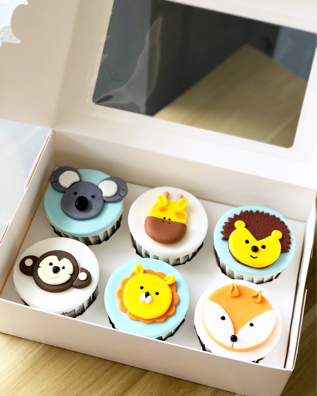 Animal Safari Jungle Woodland Cupcakes 1