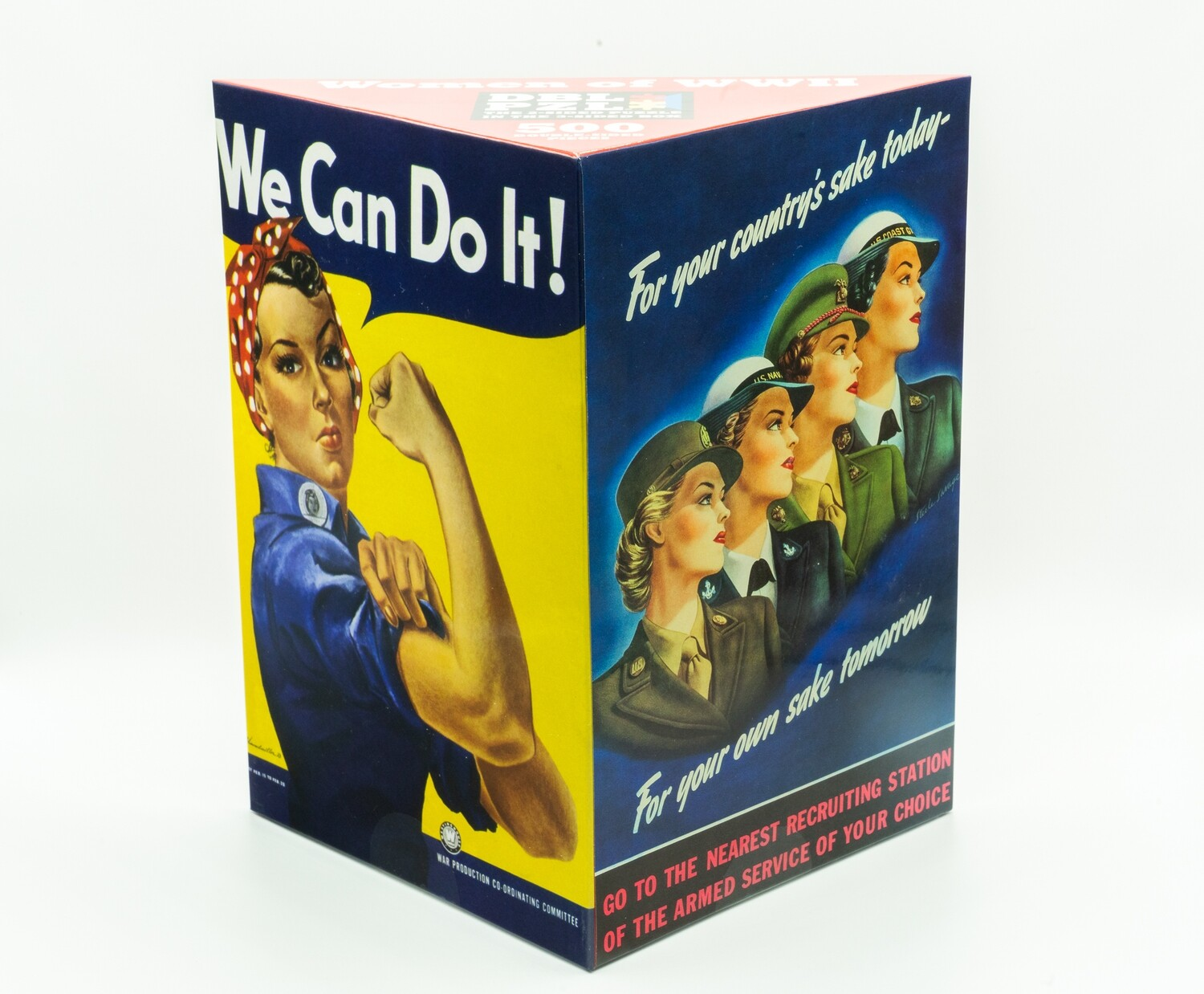 Rosie/Women of WWII Double Puzzle