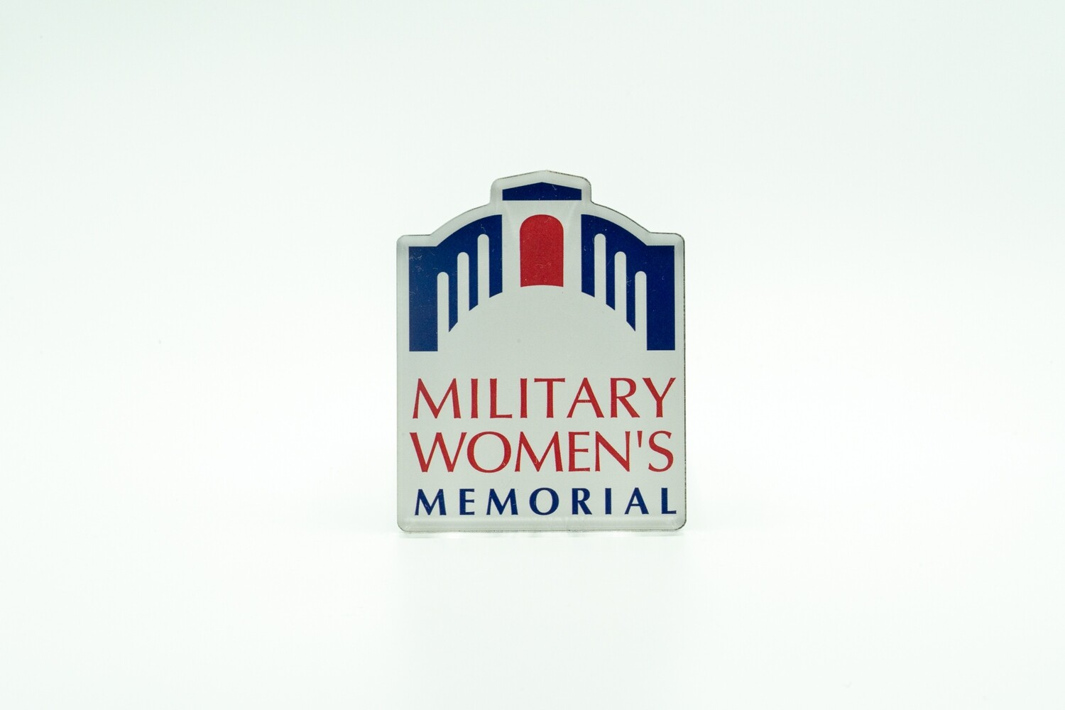 Military Women's Memorial Acrylic Magnet