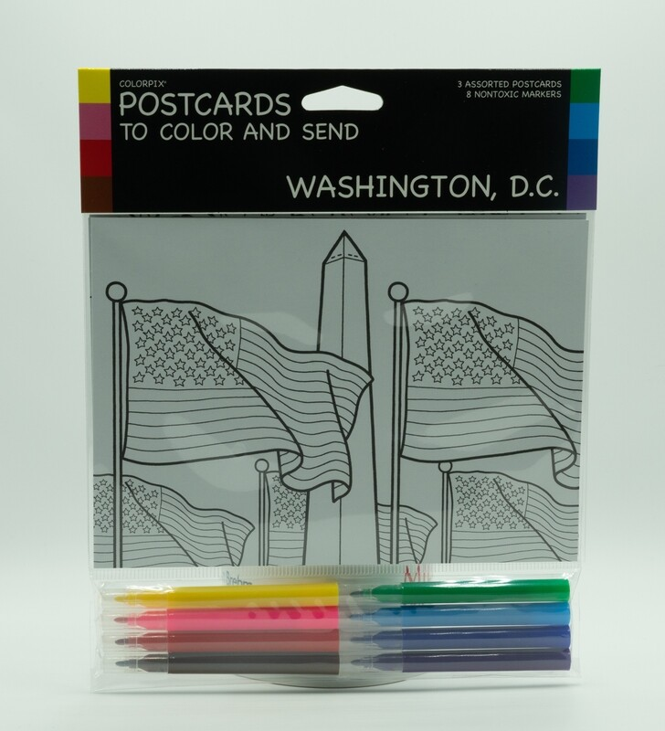 Washington, D.C. Postcards and Markers