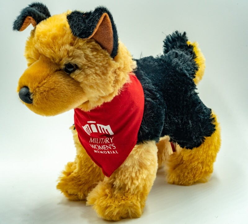 Plush Dog (Red)