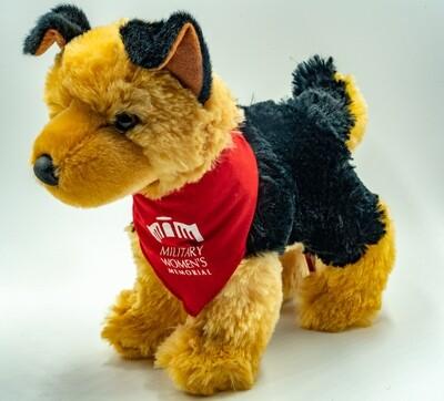 Plush Dog (Red)