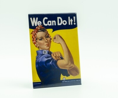 Rosie the Riveter 'We Can Do It' Magnet