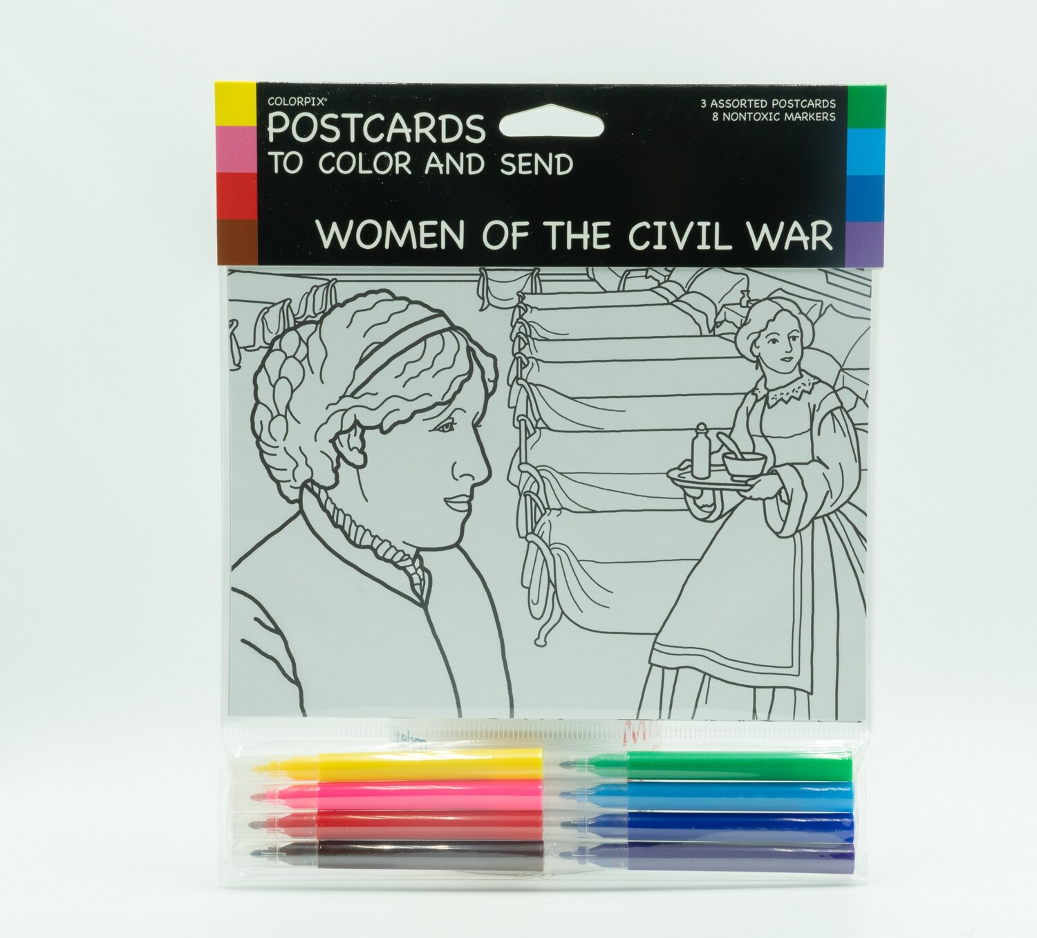 Women of the Civil War Postcards and Markers